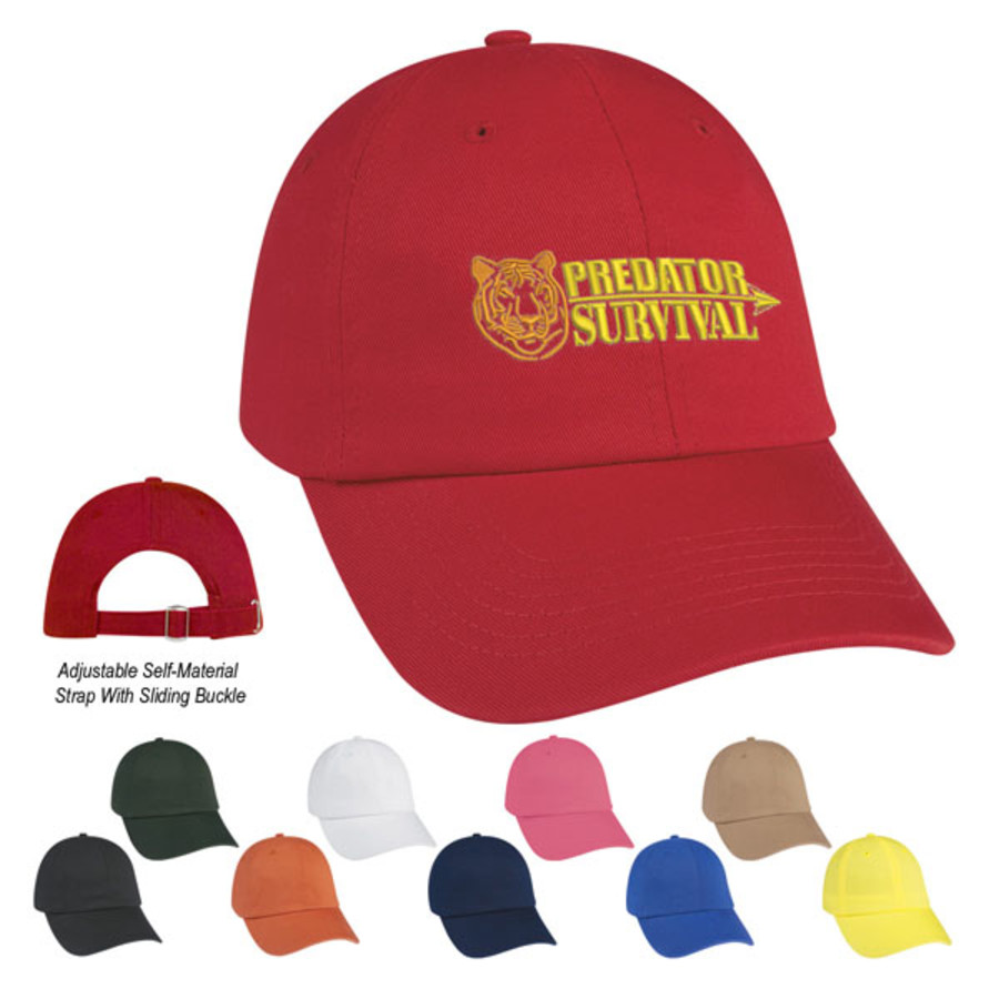 Promo Washed Cotton Cap