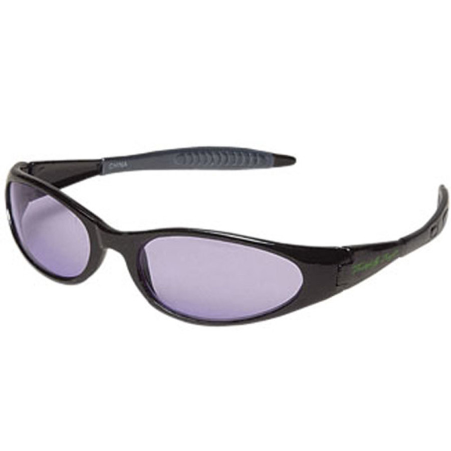 Promo Wrap Style Sunglasses with Purple Lenses