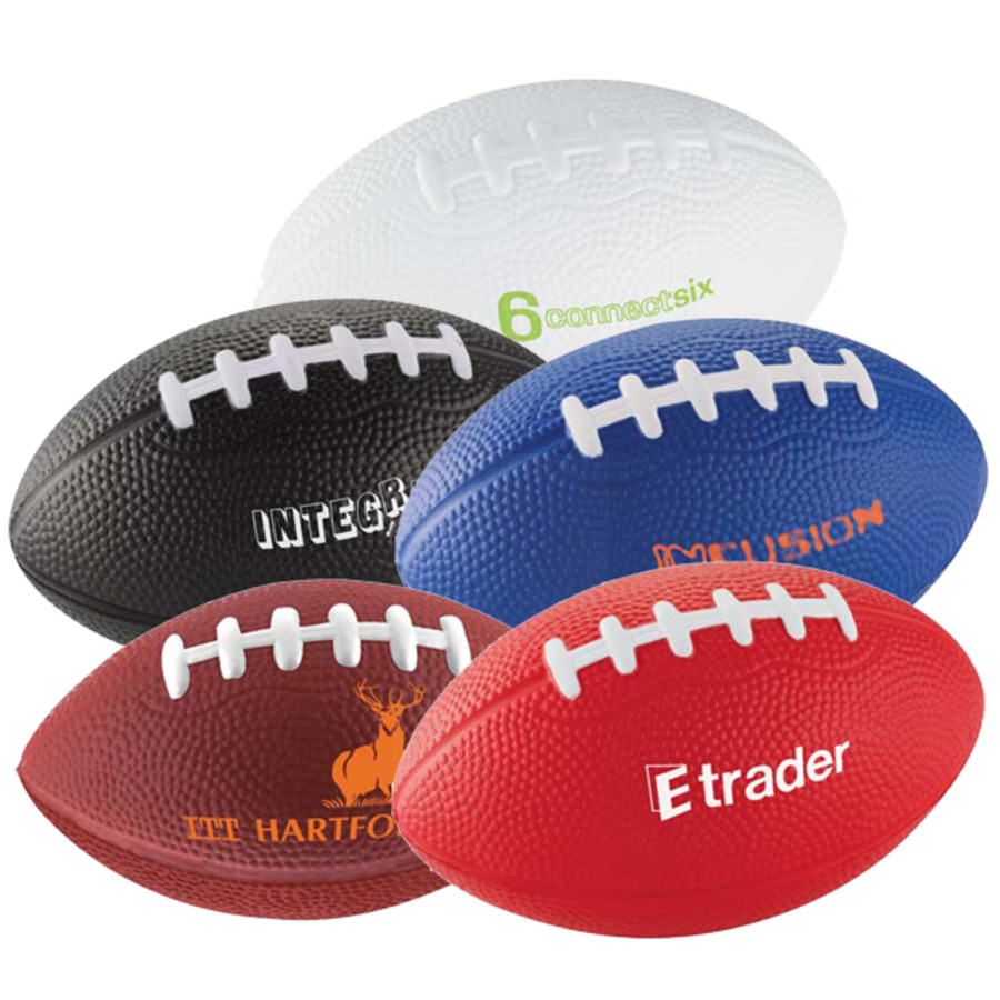 """Promotional 5"""" Football Stress Reliever"""