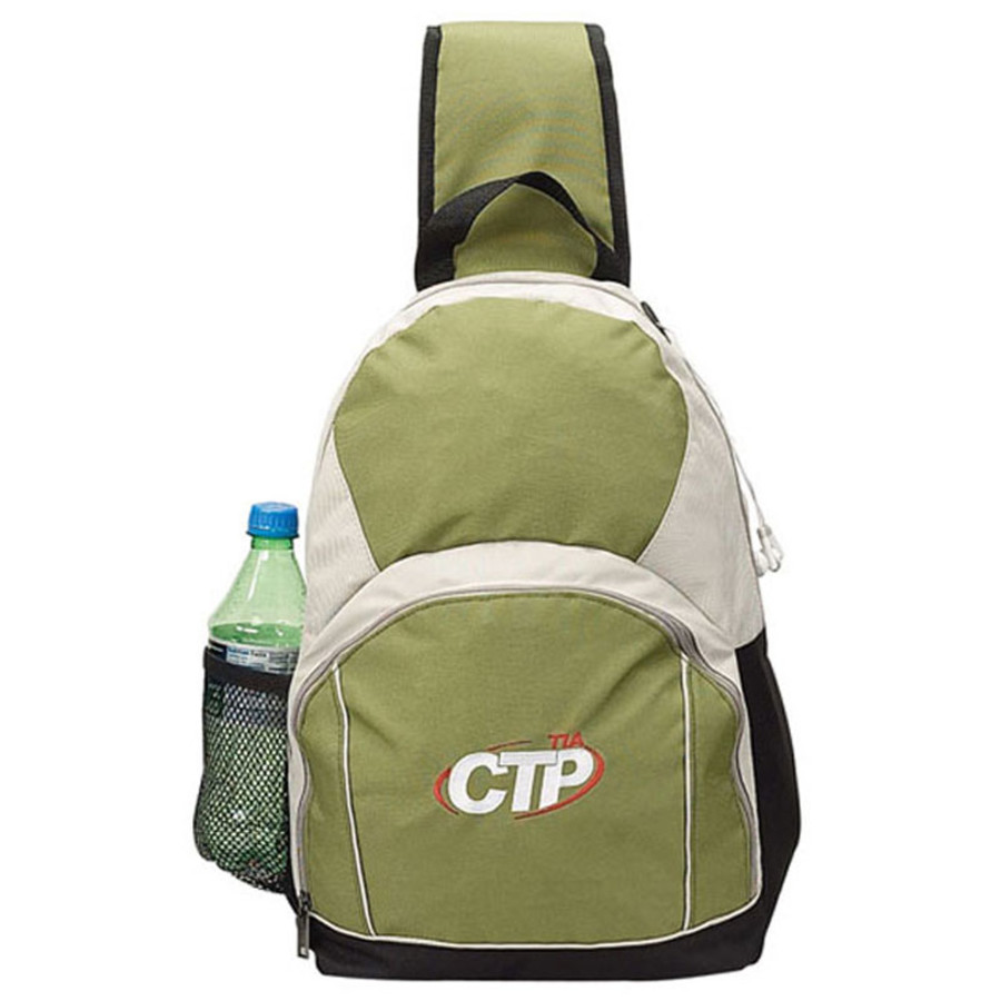 Promotional Recycled Pet Sling Backpack