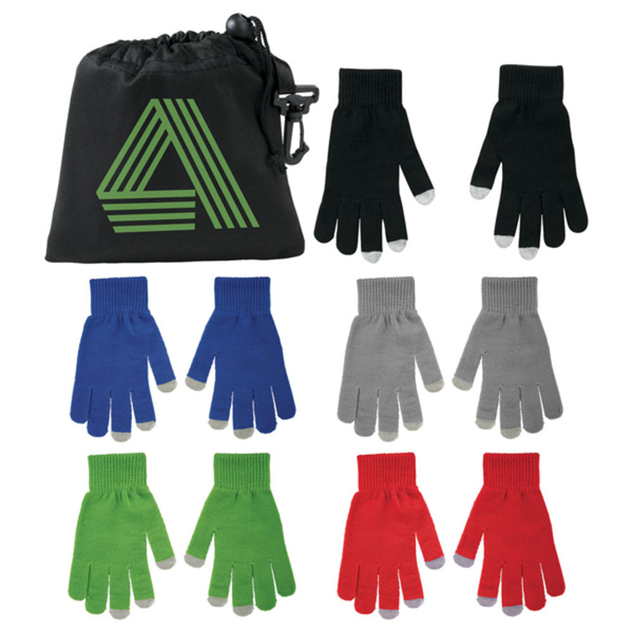 Promotional Touchscreen Gloves - Regular Size