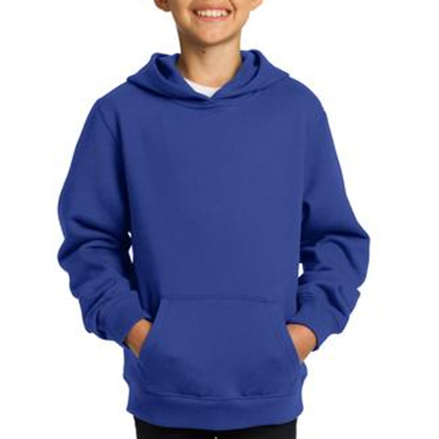 Sport-Tek Youth Pullover Hooded Sweatshirt