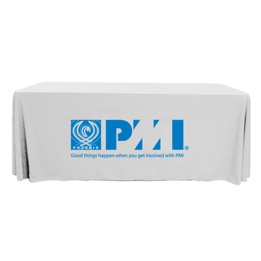 Full color 8 39 throw style table covers silkletter for Table th row group