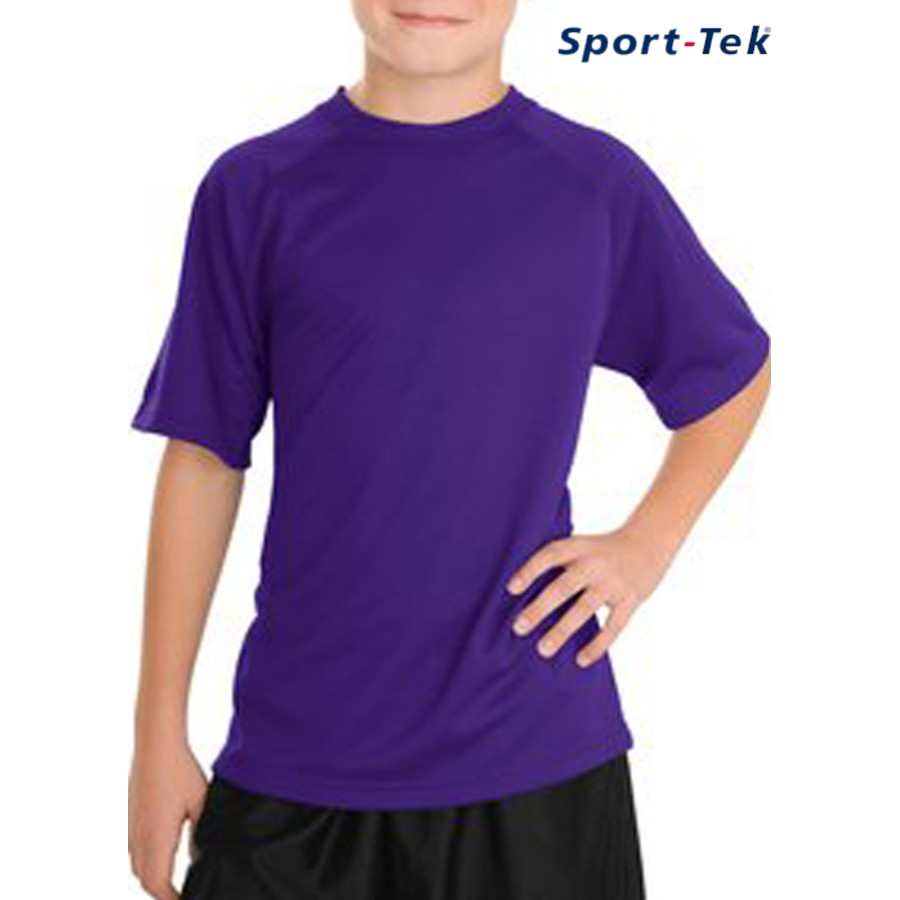 Sport-Tek® - Youth Dry Zone™ Raglan T-Shirt