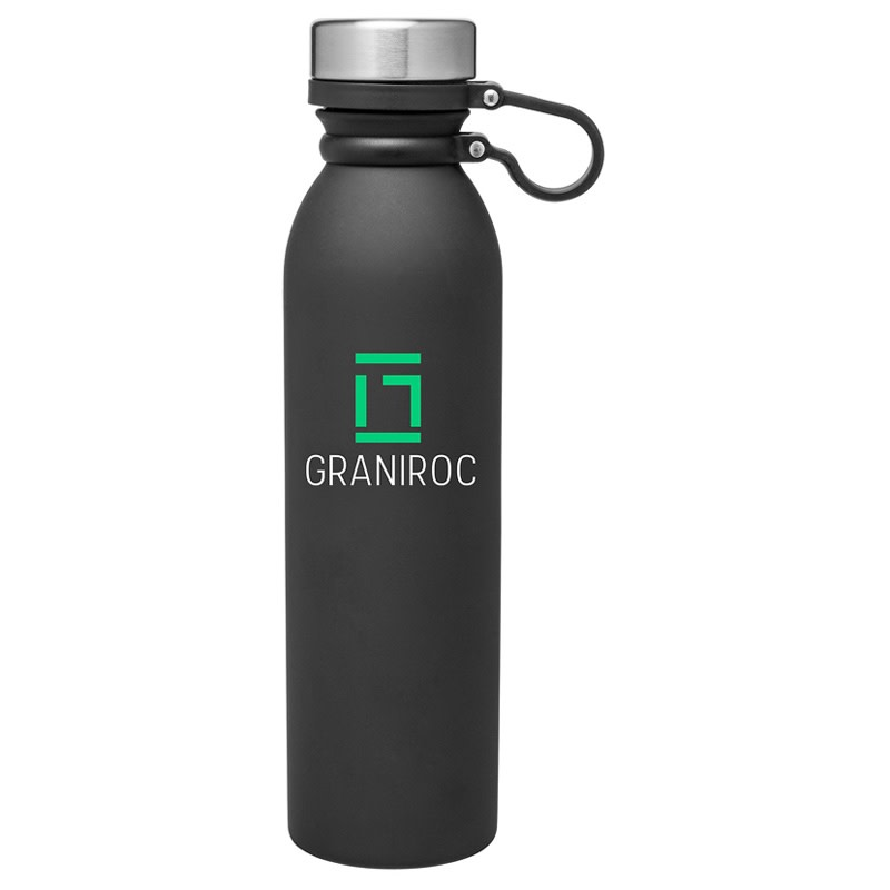 H2go Concord 25 oz Double Wall 18 8 Stainless Steel Thermal Bottle