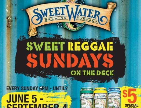 Sweetwater Raggae Sundays at the House of Blues
