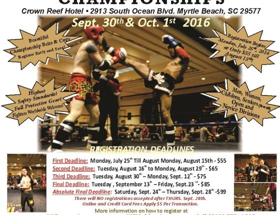 IKF East Coast Kickboxing Classic Tournament