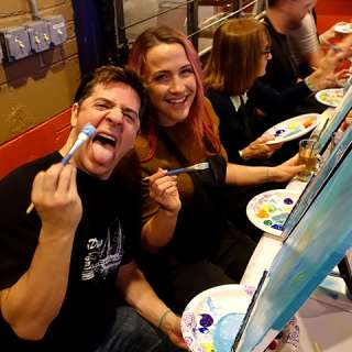 Drink and Paint at Aloft Hotel