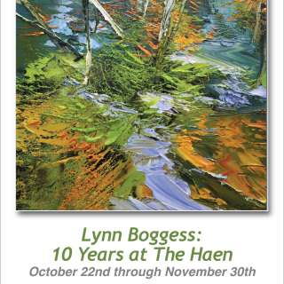 Lynn Boggess: 10 Years at The Haen Gallery