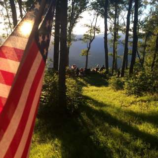 Independence Day Fireworks Hike