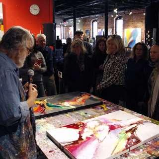 Jonas Gerard Live Painting Performance