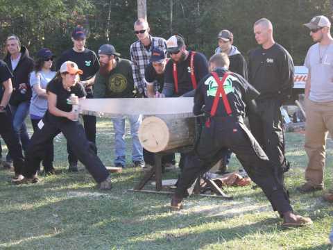 Forest Festival  Day & John G. Palmer Intercollegiate Woodsmen's Meet