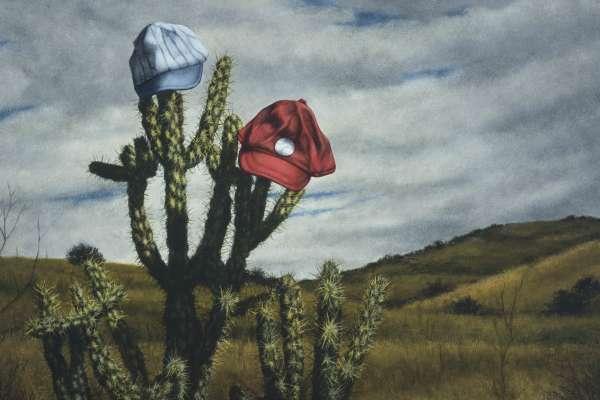 """Robert Kinsell: """"Blazes in the Desert"""""""