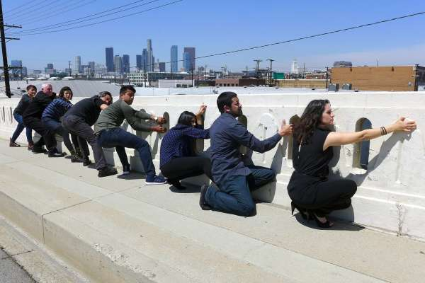 """CounterCurrent Festival presents """"Illusions of Urbanscape"""" by Harry Gamboa Jr."""