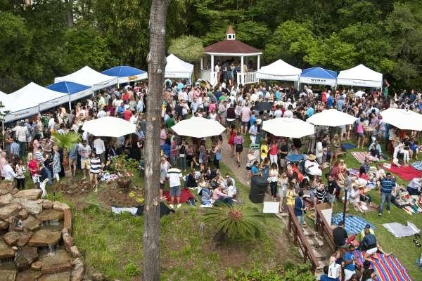 Brenner's on the Bayou's Annual Spring Wine Fest