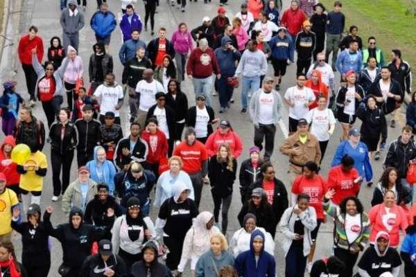 AIDS Walk Houston 2017: Red Umbrella Stroll