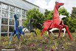 Origami in the Garden