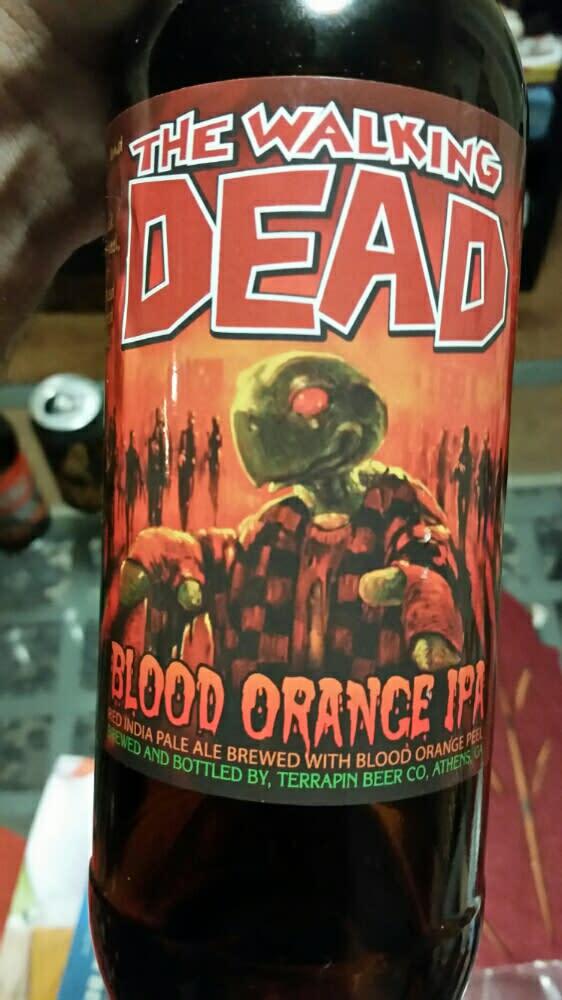 Walking Dead Beer