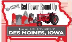 Red Power Round Up Logo