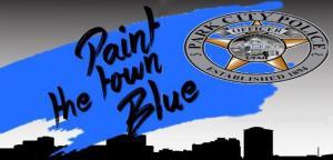 Paint the town blue
