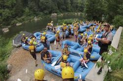 Ohiopyle Whitewater Rafting - Put in