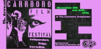 Copy of 11th Annual Carrboro Film Festival Poster