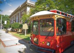 Trolley at CVB
