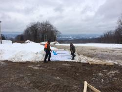 Ground Breaking Laurel Mountain