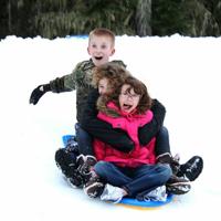 Winter Sno-Park Snow Play