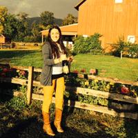 Katie and Rainbow at Saginaw Vineyard