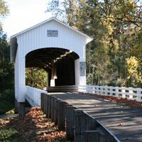 Pengra Covered Bridge by Taj Morgan