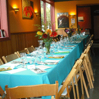 Dinner Setup by Territorial Vineyards Wine Company