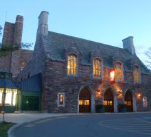 Exterior photo of the McCarter Theater Centre