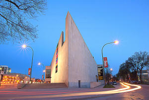 Winnipeg Art Gallery at Night