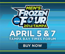 2012 Frozen Four Tampa Bay