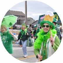 St Patrick's Parade - Kelly's