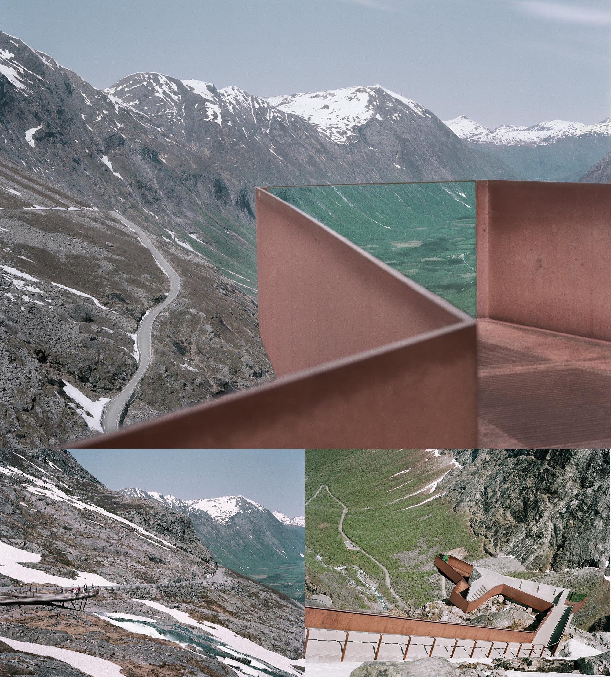Trollstigen-montasje