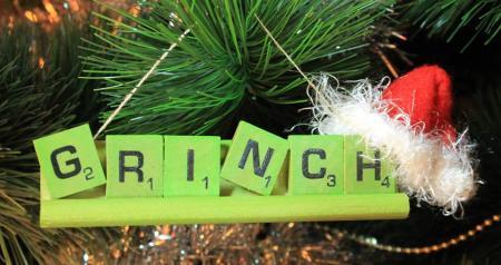 Grinch Ornament Providence Flea