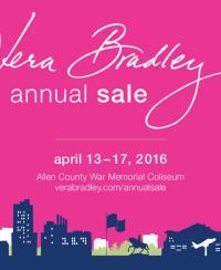Vera Bradley Annual Sale 2016