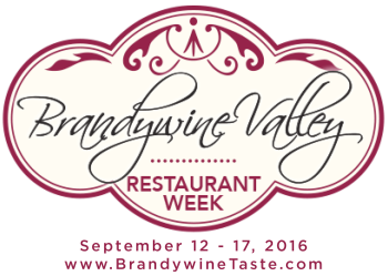 Brandywine Valley Restaurant Week Logo