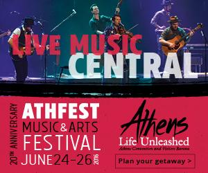 Athens Live Music Central AthFest 2016 square