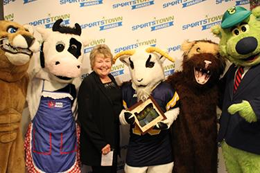 SportsTown Awards Mascot of the Year - Pleasant Hill