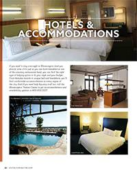 Visitors Guide 2016 - Hotels & Accomodations