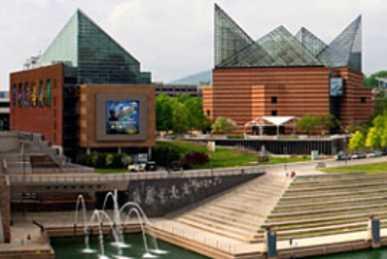 Tennessee Aquarium Riverfront