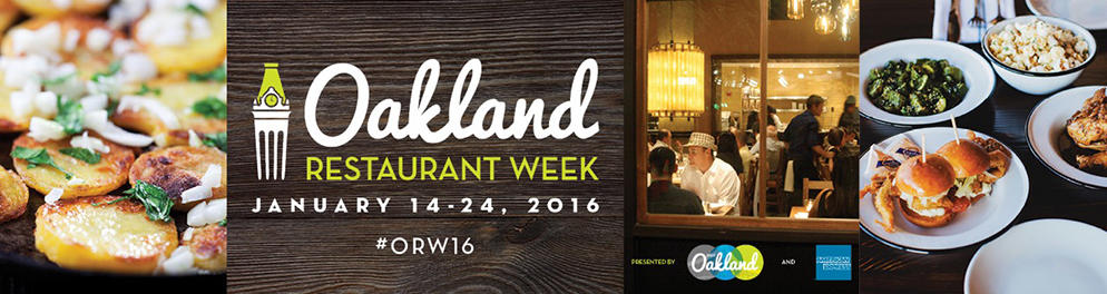 Oakland Restaurant Week
