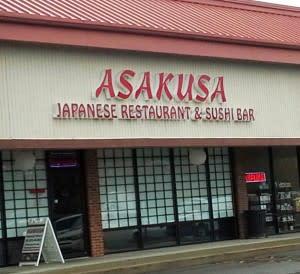 Asakusa on Jefferson exterior