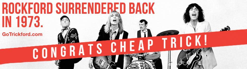 Cheap Trick band