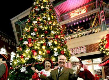 Ybor Tree Lighting