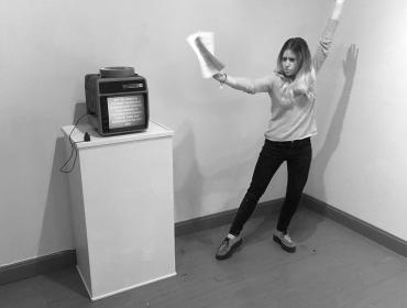 Performative Lecture by Stephanie Mercedes
