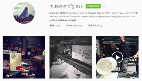Museum of Glass Instagram